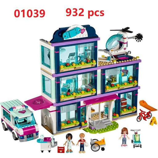 Lepin 01039 Friends Girl Series 932Pcs Building Blocks Toys Heartlake Hospital Kids Bricks Toy-Model Building-Meinuotoys Store-EpicWorldStore.com