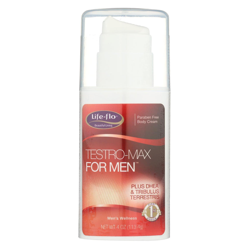 Life-Flo Testro Max For Men Body Cream - 4 Fl Oz-Eco-Friendly Home & Grocery-Life-flo-EpicWorldStore.com