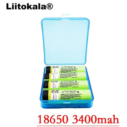 Liitokala New Original 18650 3400Mah Battery Rechargeable Li-Ion Ncr18650B 3.7V 3400 Battery-Accessories & Parts-liitokala Direct Store-1pcs battery-EpicWorldStore.com