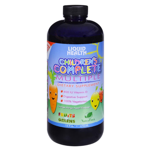 Liquid Health Childrens Complete Multiple - 16 Fl Oz-Eco-Friendly Home & Grocery-Liquid Health Products-EpicWorldStore.com