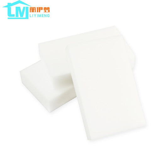 Liyimeng 50 Pcs/Lot Magic Melamine Sponge Eraser Cleaner Kitchen Bathroom Cup Dish Botthle-Household Cleaning-LIYIMENG Official Store-White-EpicWorldStore.com