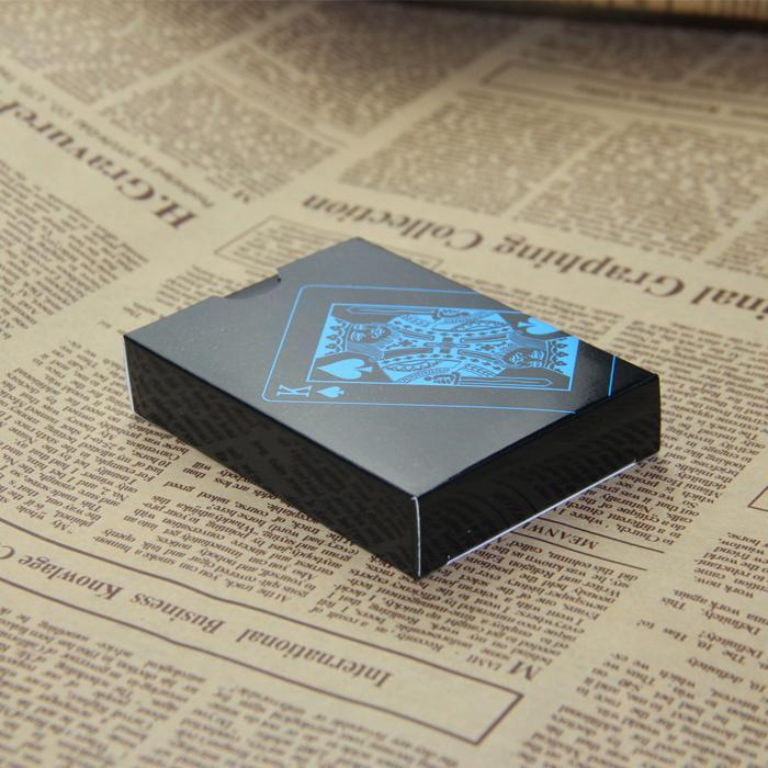 L.Tang High Quality Black Plastic Pvc Poker Waterproof Magic Box-Packed Playing Cards Creative-Entertainment-TNT Sport-paper box-EpicWorldStore.com