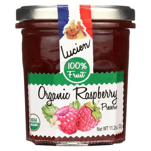 Lucien Georgelin Fruit Spread - Organic - Raspberry - Case Of 6 - 11.28 Oz-Eco-Friendly Home & Grocery-Lucien Georgelin-EpicWorldStore.com