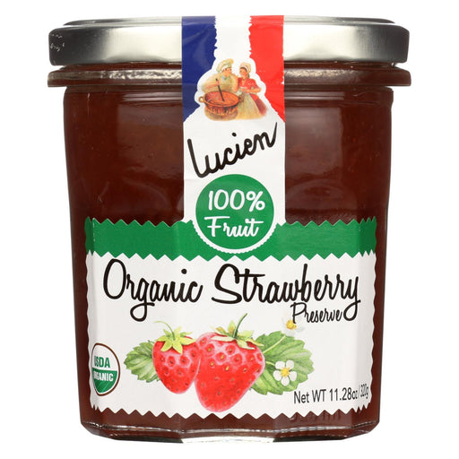 Lucien Georgelin Fruit Spread - Organic - Strawberry - Case Of 6 - 11.28 Oz-Eco-Friendly Home & Grocery-Lucien Georgelin-EpicWorldStore.com