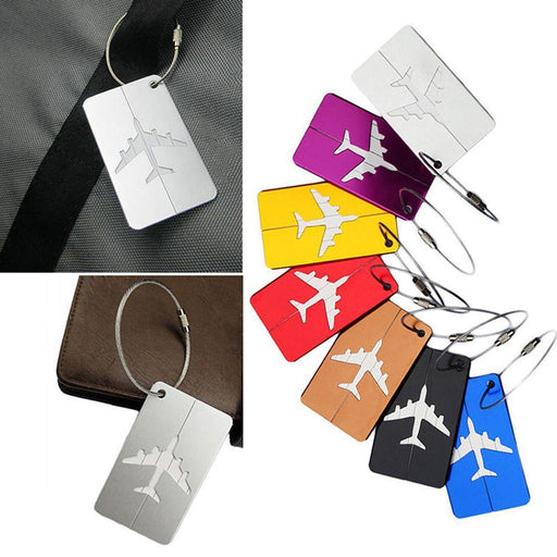 Laggage&bags Accessories Cute Novelty Metal Funky Travel Luggage Label Straps Suitcase Luggage Tags Address Name Id Backpack Tag Volume Large Luggage & Bags