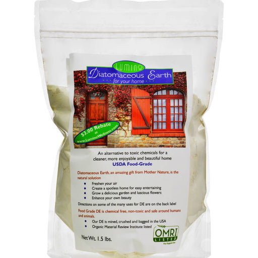 Lumino Home Diatomaceous Earth - Food Grade - Home - 1.5 Lb-Eco-Friendly Home & Grocery-Lumino Home-EpicWorldStore.com