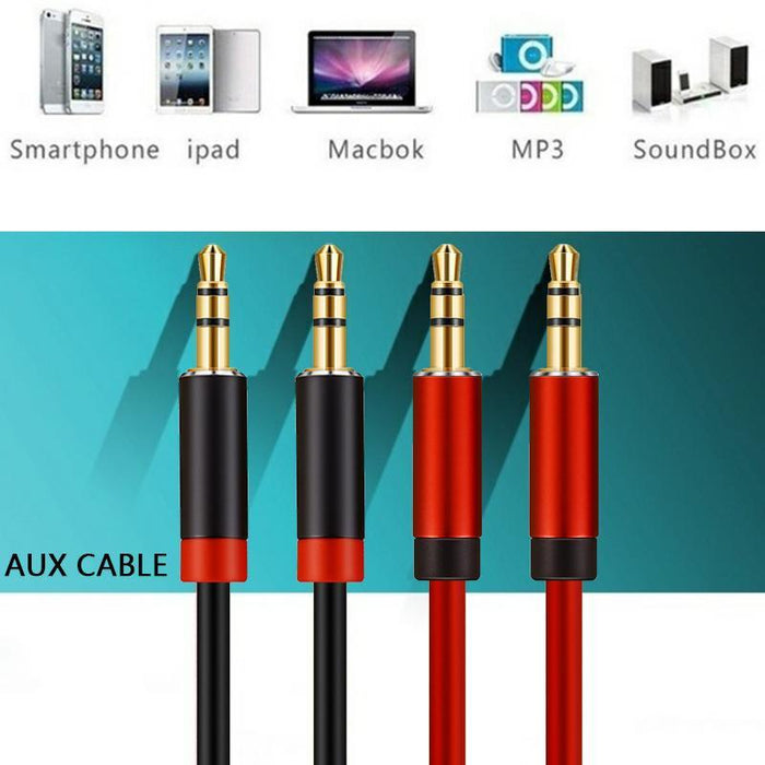 Lungfish 3.5Mm Audio Cable Jack 3.5 Mm Aux Cable For Iphone Car ...
