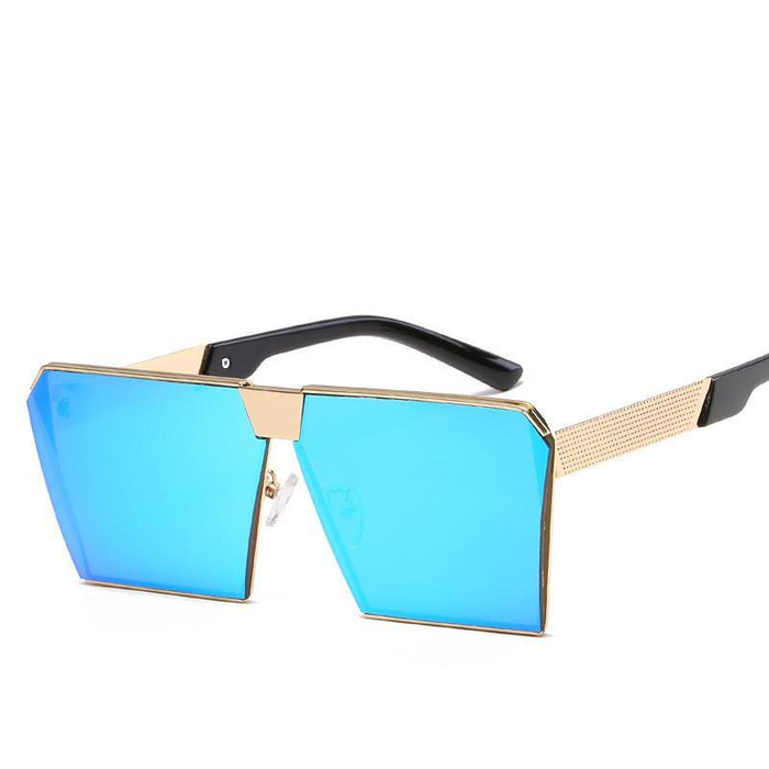 Luxury Vintage Square Rimless Sunglasses Women Brand Designer Driving Sun Glasses For Women Men-Sunglasses-God is a girl-Light Pink C1-EpicWorldStore.com