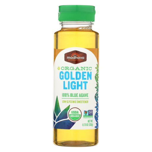 Madhava Honey Golden Light Agave - Case Of 6 - 11.75 Fl Oz.-Eco-Friendly Home & Grocery-Madhava Honey-EpicWorldStore.com