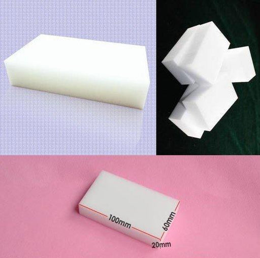 Magic Sponge 10Pcs/Lot 100*60*20Mm New Melamine Sponge Eraser Melamine Cleaner Eco-Friendly White-Household Cleaning-Charminghome Store-EpicWorldStore.com