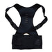 Magnetic Posture Corrector Neoprene Back Corset Brace Straightener Shoulder Back Belt Spine-Health Care-Pro White Store-Black-4XL-EpicWorldStore.com