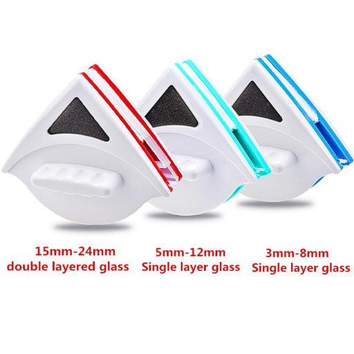 Magnetic Window Glass Cleaning Brush Home Window Glass Cleaner Tool Double Side Wiper Useful Surface-Household Cleaning-LUOSB Store-3mm to 8mm-EpicWorldStore.com