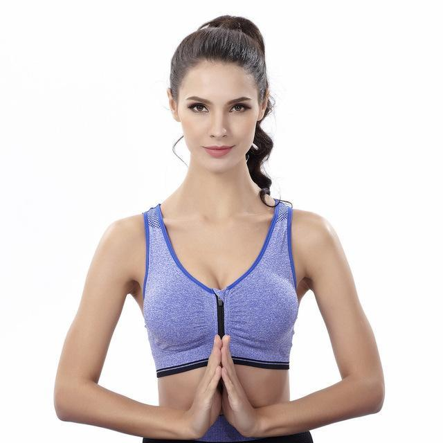 8584ab815 Maijion Women Fitness Yoga Sports Bra For Running Gym Padded Wirefree  Shakeproof Underwear Push Up-