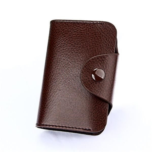 Maillusion new genuine leather unisex business card holder wallet maillusion new genuine leather unisex business card holder wallet bank credit card case id holders colourmoves