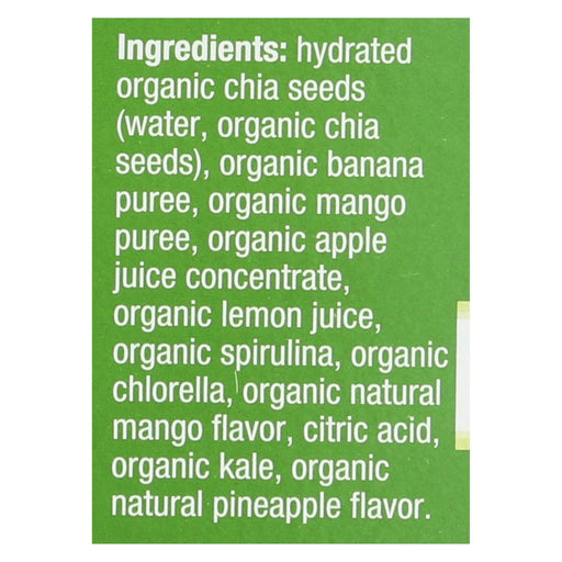 Mamma Chia Squeeze Vitality Snack - Green Magic - Case Of 6 - 3.5 Oz.-Eco-Friendly Home & Grocery-Mamma Chia-EpicWorldStore.com
