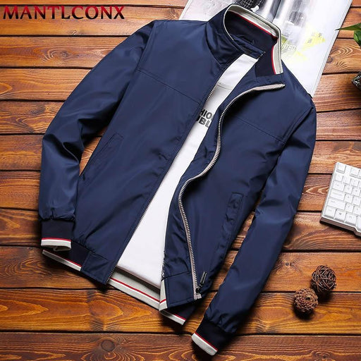 Mantlconx Plus Size M 8Xl Casual Jacket Men Spring Autumn Outerwear Mens Jackets And Coats Male-Jackets-MANTLCONX Official Store-Black-M-EpicWorldStore.com