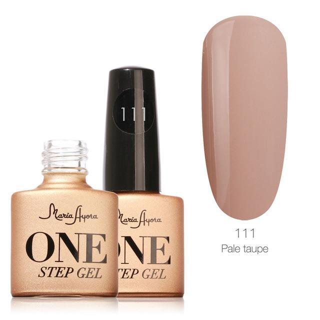 Maria Ayora One Step Nail Gel 7Ml Long-Lasting Led Uv Lamp Nail Gel Polish Lacquer Varnish No Base-Nails & Tools-Maria Makeup Store-111-EpicWorldStore.com