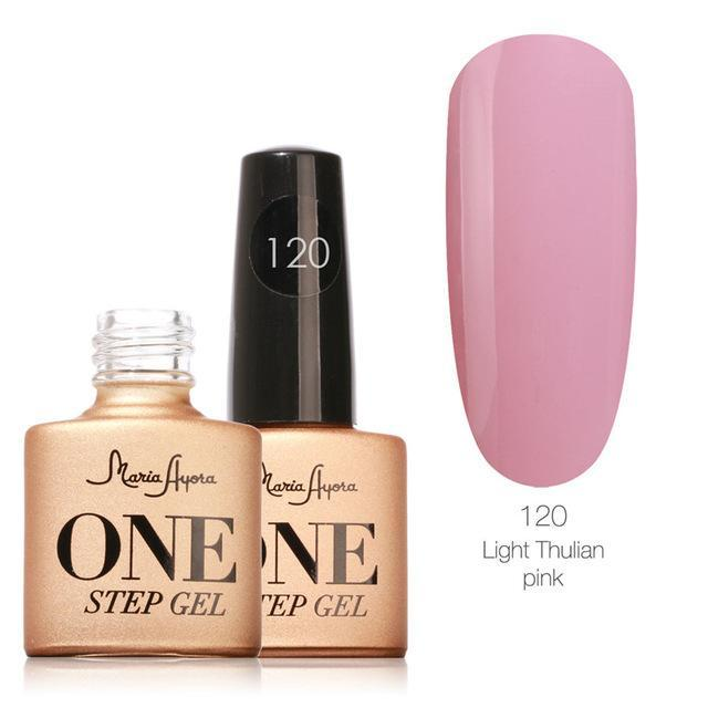 Maria Ayora One Step Nail Gel 7Ml Long-Lasting Led Uv Lamp Nail Gel Polish Lacquer Varnish No Base-Nails & Tools-Maria Makeup Store-120-EpicWorldStore.com