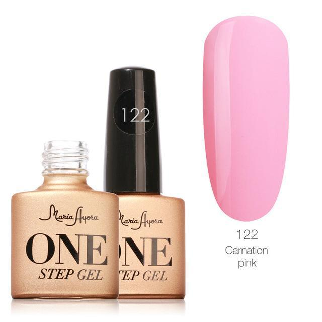 Maria Ayora One Step Nail Gel 7Ml Long-Lasting Led Uv Lamp Nail Gel Polish Lacquer Varnish No Base-Nails & Tools-Maria Makeup Store-122-EpicWorldStore.com