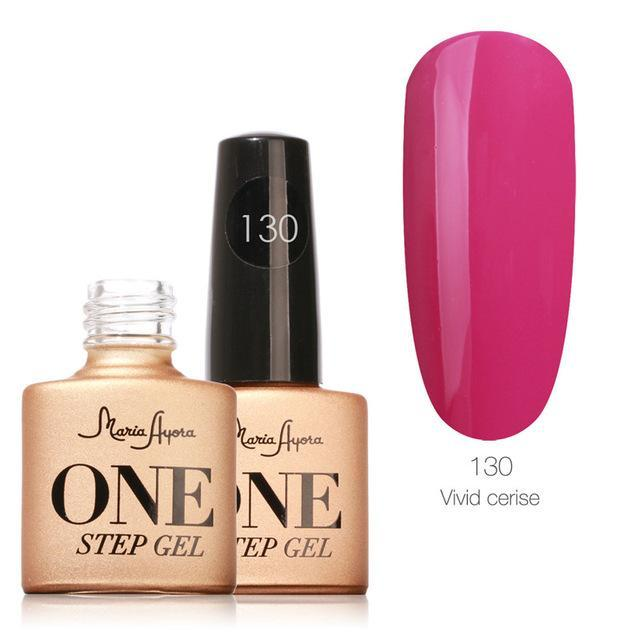 Maria Ayora One Step Nail Gel 7Ml Long-Lasting Led Uv Lamp Nail Gel Polish Lacquer Varnish No Base-Nails & Tools-Maria Makeup Store-130-EpicWorldStore.com