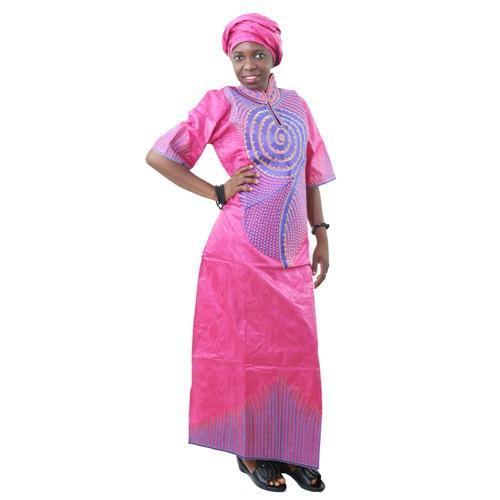 Md New Africa Dresses With Headwrap Two Piece African Dress For Women Epicworldstore Com
