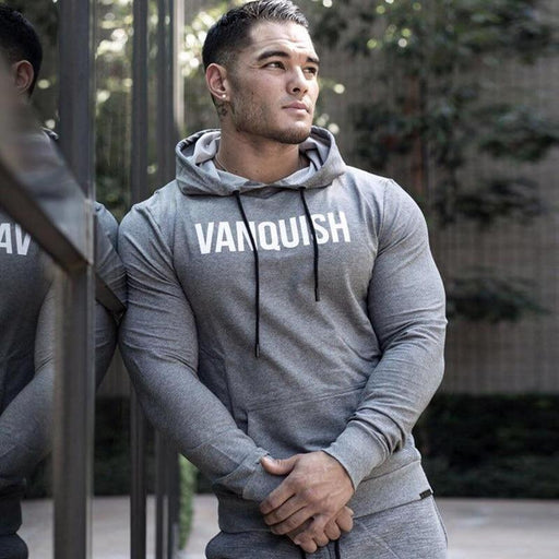 Men Hoodies+Pants Suit Casual Fashion Sportswear Sweatshirt/Sweatpants 2Pcs/Sets Male Fitness-Men's Sets-Jocelyn Katrina Official Store-Black (Sets)-M-EpicWorldStore.com