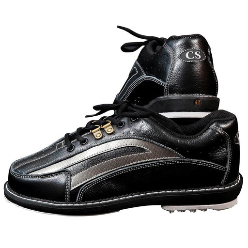 Mens Bowling Shoes With Interchangeable Soles/Heels Black/Blue Size 46-Bowling-PSCOWNLG Store-white-5-EpicWorldStore.com