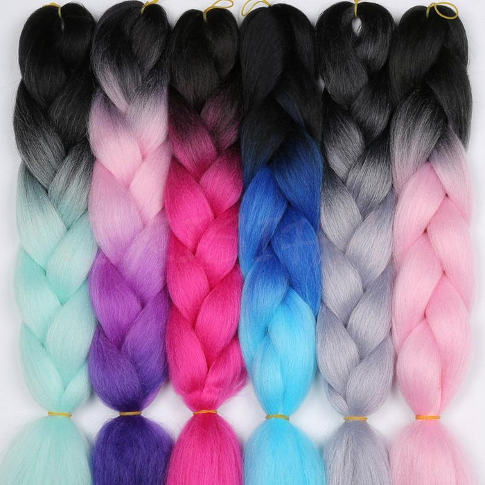 Merisi Hair 82 Inch Jumbo Braids Synthetic Kanekalon Red Purple Green 29 Colors Available In Hair Extensions For Black Women Hair Extensions & Wigs Hair Braids