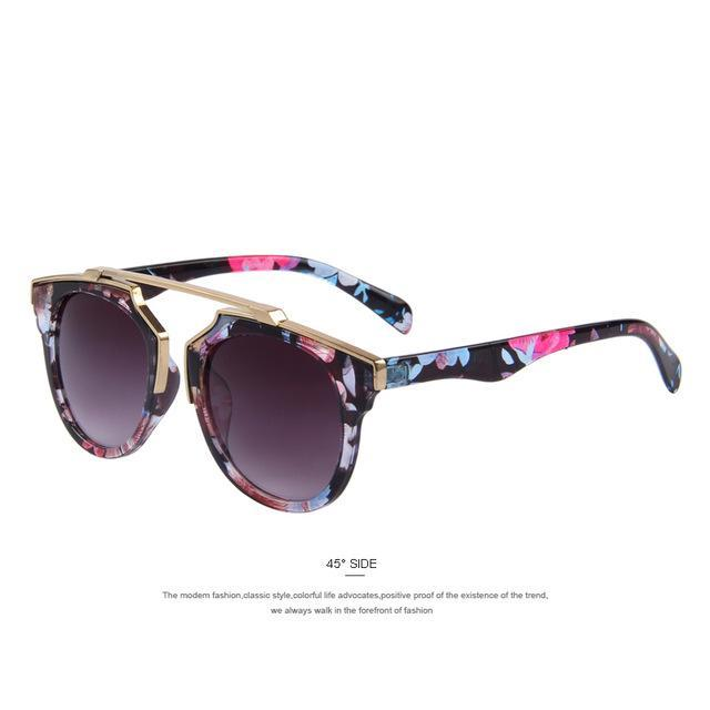 Merry'S Women Cat Eye Sun Glasses Uv400-Accessories-MERRY'S official store-C11 Flowers-EpicWorldStore.com