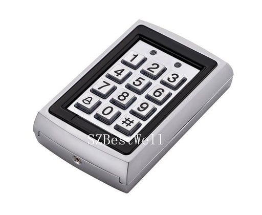 Metal Rfid Reader 125Khz Proximity Door Access Control Keypad 7612 Support 1000 Users Electric-ShenZhen BestWell Tech Company Store-EpicWorldStore.com