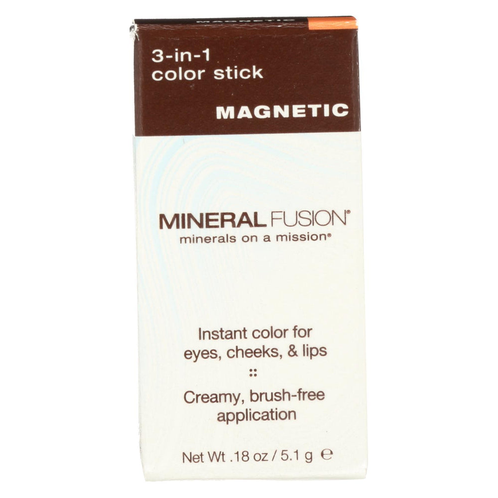 Mineral Fusion - 3-In-1 Color Stick - Magnetic - 0.18 Oz.-Eco-Friendly Home & Grocery-Mineral Fusion-EpicWorldStore.com