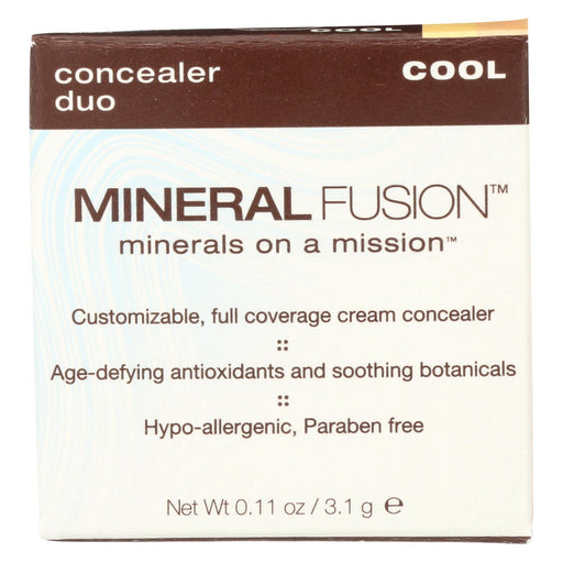 Mineral Fusion - Concealer Duo - Cool - 0.11 Oz.-Eco-Friendly Home & Grocery-Mineral Fusion-EpicWorldStore.com