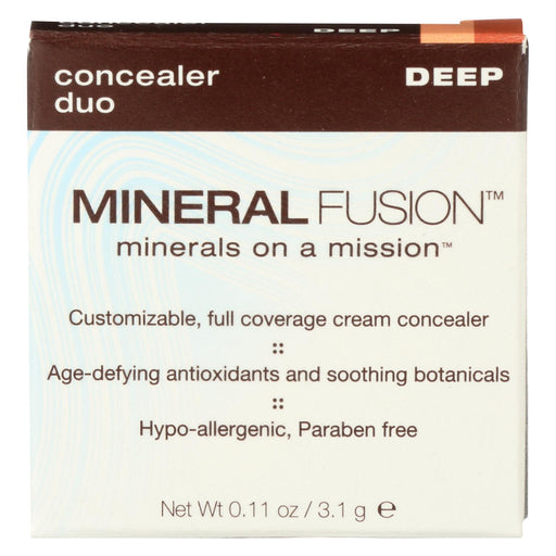 Mineral Fusion - Concealer Duo - Deep - 0.11 Oz.-Eco-Friendly Home & Grocery-Mineral Fusion-EpicWorldStore.com