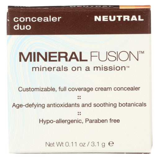 Mineral Fusion - Concealer Duo - Neutral - 0.11 Oz.-Eco-Friendly Home & Grocery-Mineral Fusion-EpicWorldStore.com