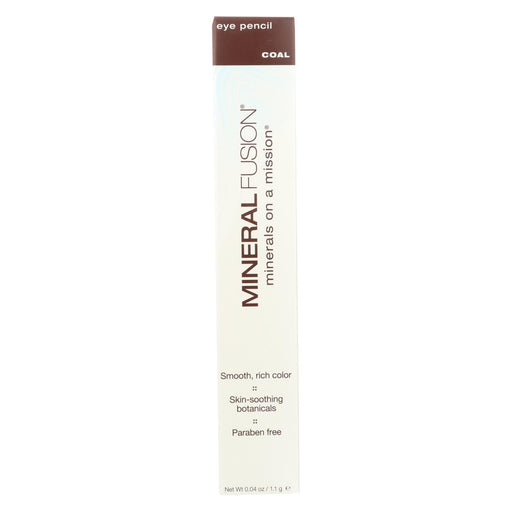 Mineral Fusion - Eye Pencil - Coal - 0.04 Oz.-Eco-Friendly Home & Grocery-Mineral Fusion-EpicWorldStore.com
