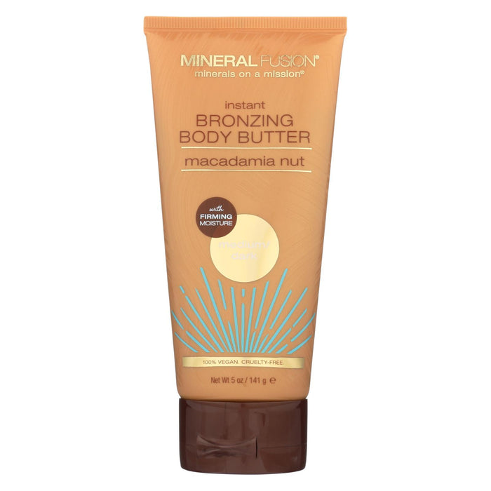 Mineral Fusion - Instant Bronzing Body Butter - Medium-Dark - 5 Oz.-Eco-Friendly Home & Grocery-Mineral Fusion-EpicWorldStore.com