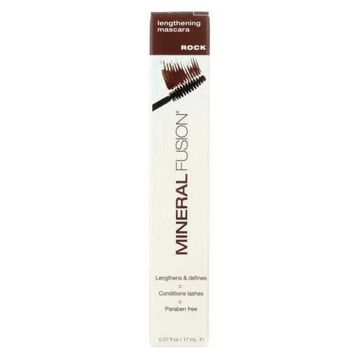 Mineral Fusion - Mascara - Lengthening Rock - 0.57 Oz.-Eco-Friendly Home & Grocery-Mineral Fusion-EpicWorldStore.com