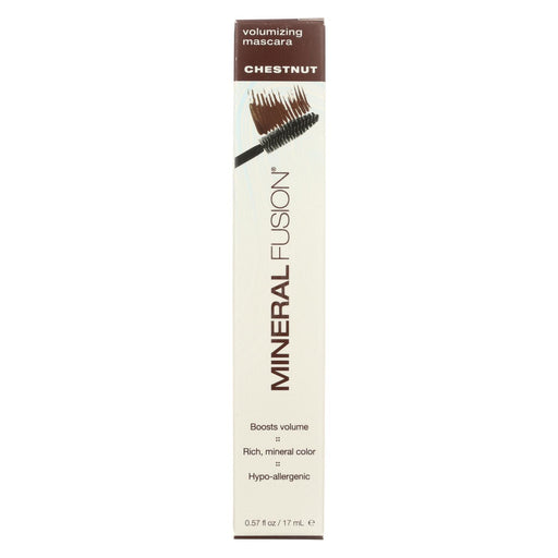 Mineral Fusion - Mascara - Volume Chestnut - 0.57 Oz.-Eco-Friendly Home & Grocery-Mineral Fusion-EpicWorldStore.com