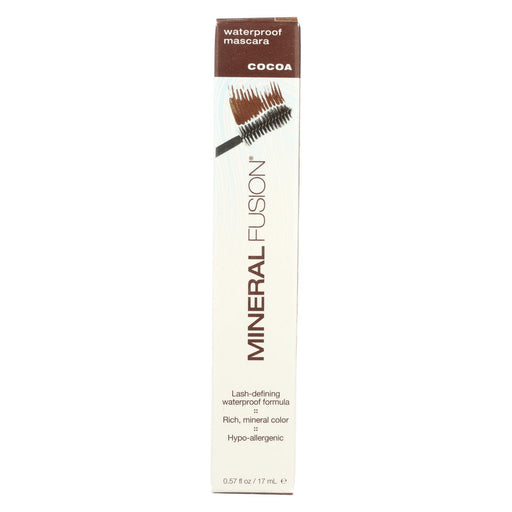 Mineral Fusion - Mascara - Waterproof Cocoa - 0.57 Oz.-Eco-Friendly Home & Grocery-Mineral Fusion-EpicWorldStore.com