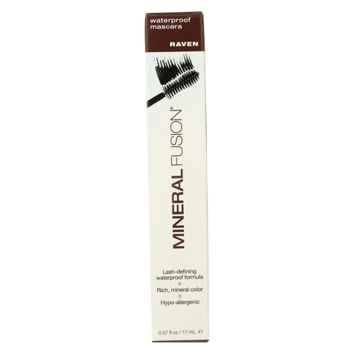 Mineral Fusion - Mascara - Waterproof Raven - 0.57 Oz.-Eco-Friendly Home & Grocery-Mineral Fusion-EpicWorldStore.com