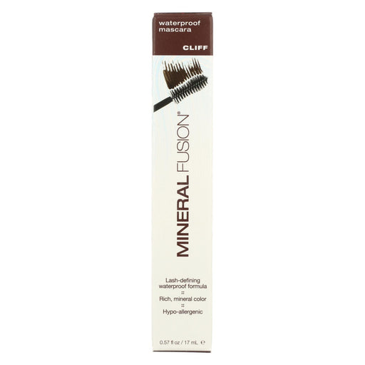 Mineral Fusion - Mascara - Waterproofm Cliff - 0.57 Oz.-Eco-Friendly Home & Grocery-Mineral Fusion-EpicWorldStore.com
