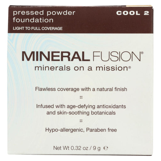 Mineral Fusion - Pressed Powder Foundation - Cool 2 - 0.32 Oz.-Eco-Friendly Home & Grocery-Mineral Fusion-EpicWorldStore.com
