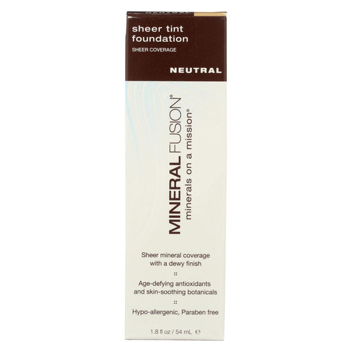 Mineral Fusion - Sheer Tint Mineral Foundation - Neutral - 1.8 Oz.-Eco-Friendly Home & Grocery-Mineral Fusion-EpicWorldStore.com