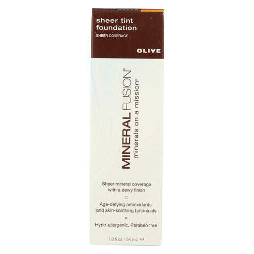 Mineral Fusion - Sheer Tint Mineral Foundation - Olive - 1.8 Oz.-Eco-Friendly Home & Grocery-Mineral Fusion-EpicWorldStore.com