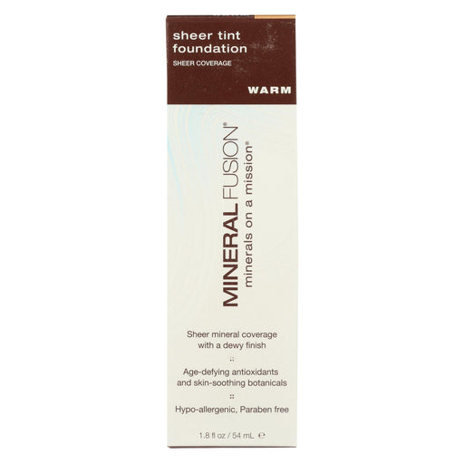 Mineral Fusion - Sheer Tint Mineral Foundation - Warm - 1.8 Oz.-Eco-Friendly Home & Grocery-Mineral Fusion-EpicWorldStore.com