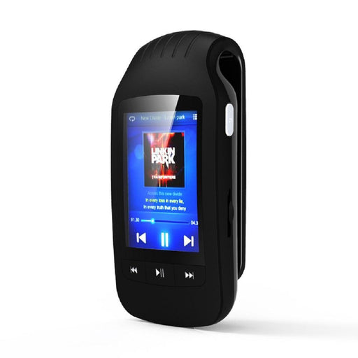 Mini Hott Mu1037 Bluetooth Mp3 Player 8Gb Clip Mp3 Music Player Portable Sport Pedometer Fm Radio Sd-HIFI Devices-RUNFENG TECH Store-Black-EpicWorldStore.com
