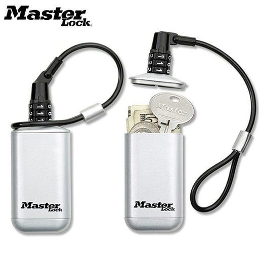Mini Key Safe Box Outdoor Backpack Hanging Metal Hidden Password Lock Zinc Alloy Fixed Code Lock-Safes-MASTER LOCK GOOD Store-Gray-EpicWorldStore.com