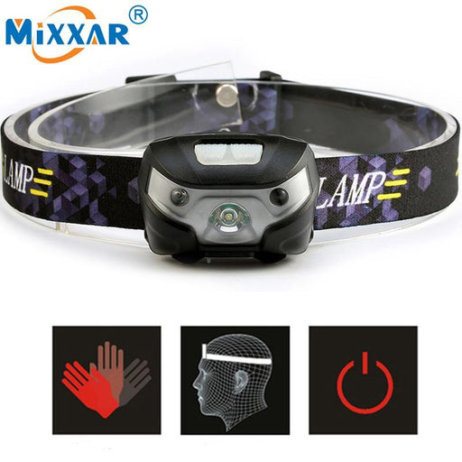 Mini Rechargeable Led Headlamp 4000Lm Body Motion Sensor Headlight Camping Flashlight Head Light-Portable Lighting-mixxar NO.2 Store-EpicWorldStore.com
