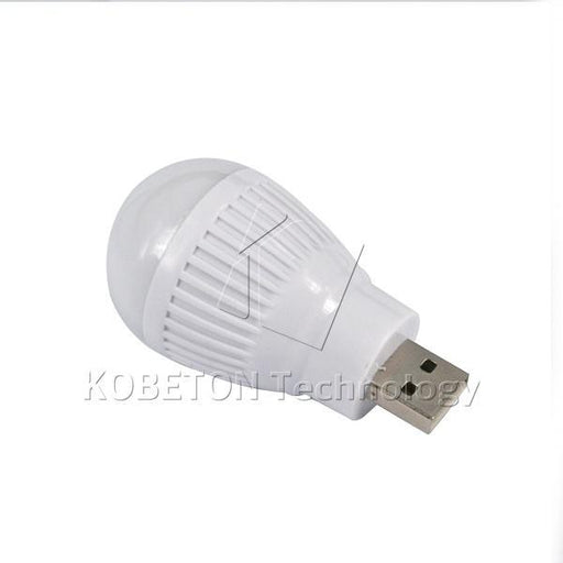 Mini Usb Led Bulb Night Light Round Outdoor Flashlight Emergency Lamp Laptop Computer Energy-Book Lights-Loves-Home-Black-EpicWorldStore.com