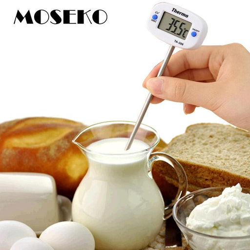 Moseko Rotatable Digital Food Thermometer Bbq Meat Chocolate Oven Milk Water Oil Cooking Kitchen-Household Merchandises-MOSEKO Kitchenware Store-EpicWorldStore.com